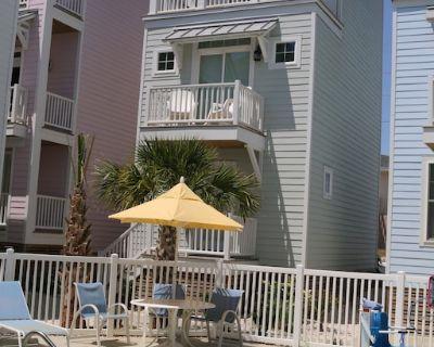 107 W Bogue Blvd Unit 3 Sleeps 6-2 Br-3 Levels-overlooking Pool-walk to Beach - Atlantic Beach