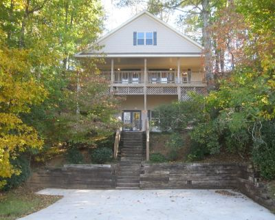 Spacious Cabin With Great Views, Fireplace, Hot Tub, Pool Table, And Wi-fi - Helen