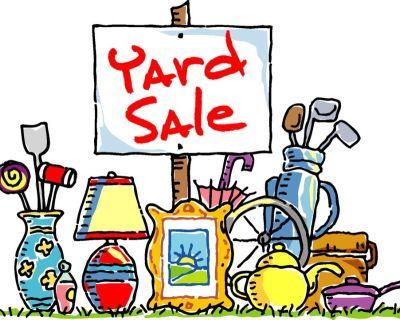 Yard Sale!  Saturday, October 2, 10am - 3:30pm. 460 Berkeley Ave., Winnetka