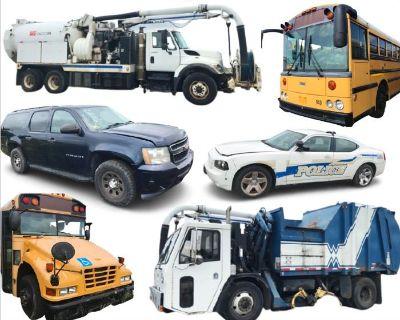 P623 Municipality Buses and Fleet Vehicles