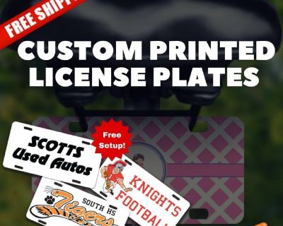 """print license plates template"""