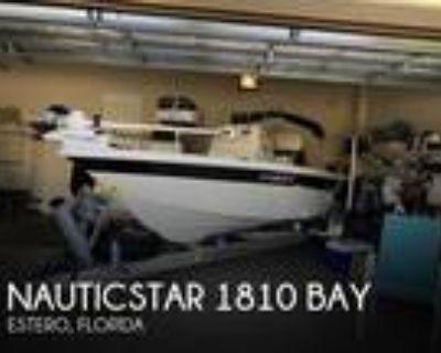 18 foot NauticStar 1810 Bay
