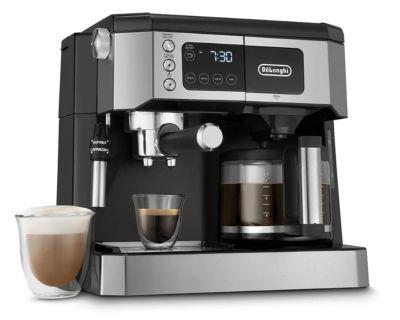 De'Longhi COM532M All-in-One Combination Coffee and Espresso Machine - Black