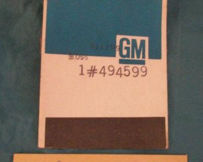 1976 Firebird Trans-am Limited Edition Black/gold T/a 6.6 Hood Scoop Decals Gm!!