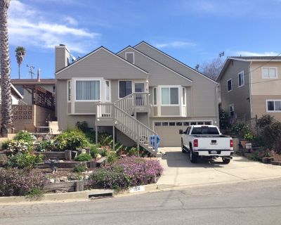 Lovely Home With Ocean Views And The Rock From Living Room & Master Suite - Morro Bay