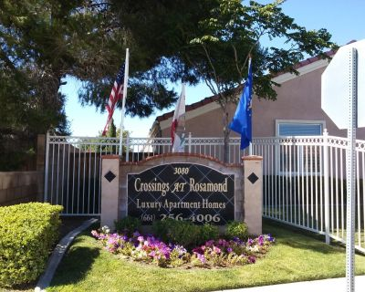 Three bedroom Apartment Home in Rosamond CA $1625.00