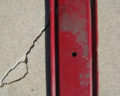 Original Radio block off plate.