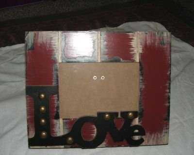 """PICTURE FRAME """"LOVE"""""""