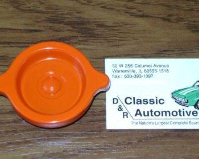 "Oil Filler Cap ""s"" Rivet Orange 69-70 Camaro Corvette Chevelle Nova *in Stock!*"