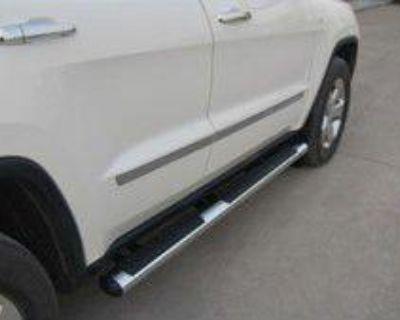 2011 2012 Dch Jeep Grand Cherokee Tube Side Step Steps Chrome Mopar 82212129ab