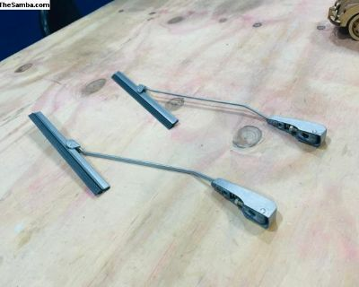 Oval Wiper Set Arm Blade Bases Set TOP QUALITY