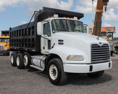 2006 Mack Vision Tri Axle Dump Truck For Sale