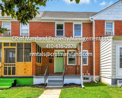 2 Bedroom Home- Dundalk, MD- Baltimore County