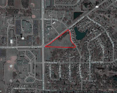 Commercial land for sale in Andover on a prime corner!