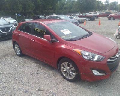 Salvage Red 2015 Hyundai Elantra Gt