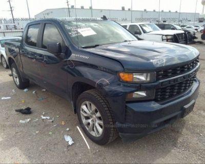 Salvage Blue 2019 Chevrolet Silverado 1500