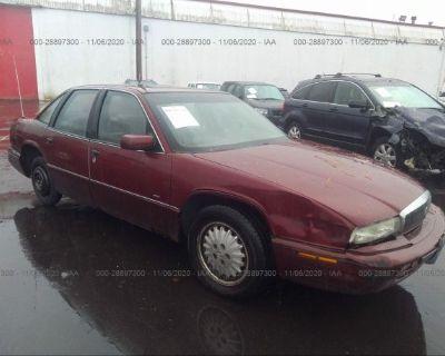 Salvage Burgundy 1996 Buick Regal