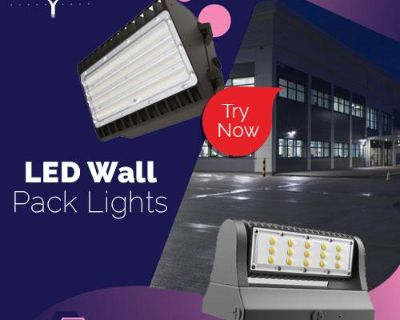 Purchase LED Wall Pack Lights For Your Wall Lighting