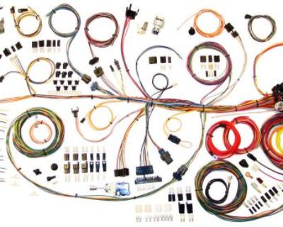 64-67 Gto Lemans Tempest Classic Update Wire Wiring Harness Aaw 510188