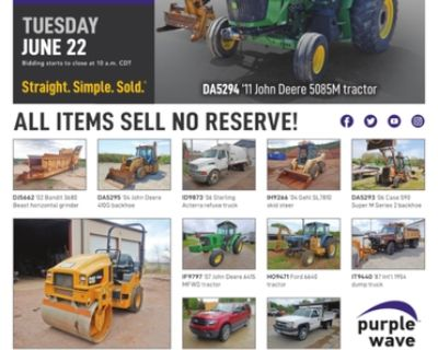 June 22 government auction