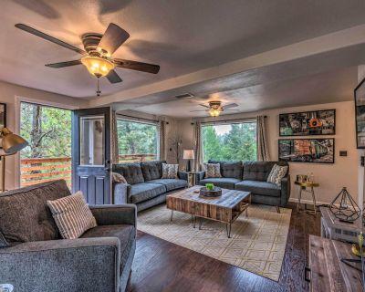Modern Home w/ Decks < 3 Miles to Ski Cloudcroft - Cloudcroft
