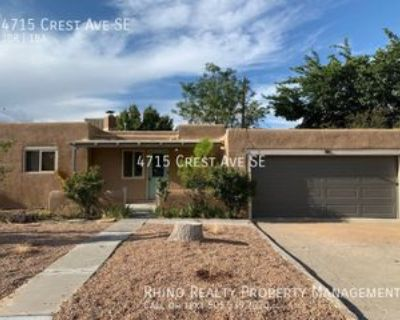 4715 Crest Ave Se, Albuquerque, NM 87108 3 Bedroom House