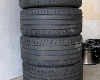 $400 Michelin Pilot Sport 4S Tires 255 40 R19 & 275 40 R19 (PS4S)