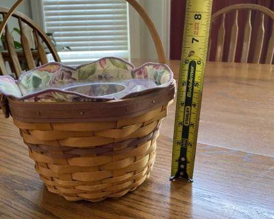 Longaberger plant basket