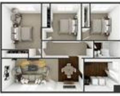 Palo Duro Place Apartments in Amarillo TX - Three Bedroom One Bath