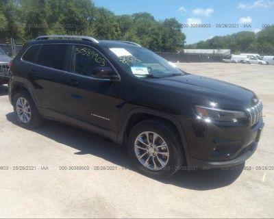 Salvage Black 2019 Jeep Cherokee