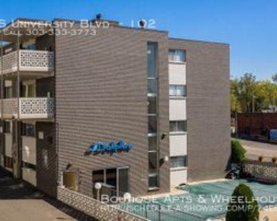 2390 S University Blvd #102, Denver, CO 80210 1 Bedroom Apartment