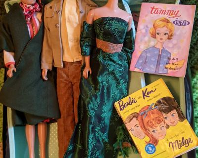 Vintage Barbie's and Accessories
