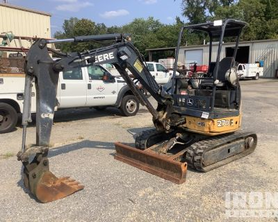 2013 John Deere 27D Mini Excavator