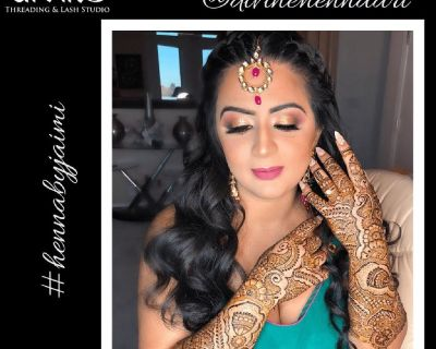 Indulge Into Our Henna Services & Make Your Party More Happening