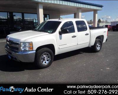"""Used 2013 Chevrolet Silverado 1500 4WD Crew Cab 143.5"""" LS"""