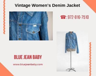 Vintage Women's Denim Jacket at Blue Jean Baby - Frisco | TX
