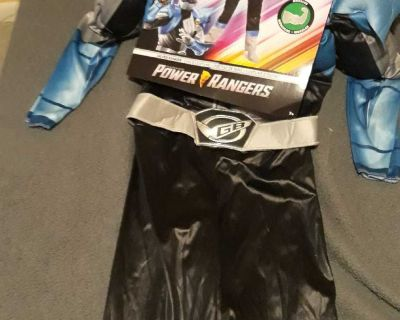 Power rangers silver ranger costume