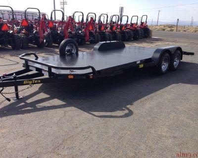 2019 All Steel Car Hauler, 7x20 Tandem Axle Car Trailer, Big Tex Trailers 70DM-20