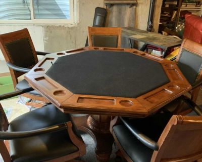 Game/dining/poker table