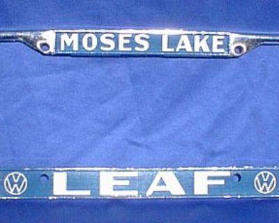 [WTB] moses lake Leaf Leafs plate frame literature ect