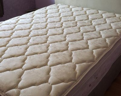 FREE QUEEN BED AND FRAME