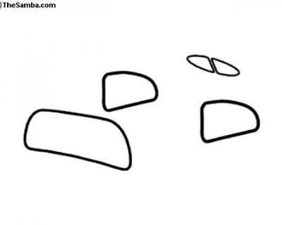 Split and Zwitter Window Rubber Seal Kit