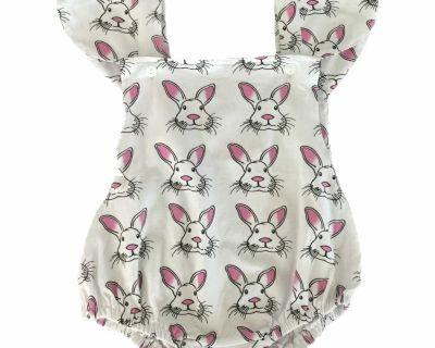 Cute Bunny One-Piece, 3-6M