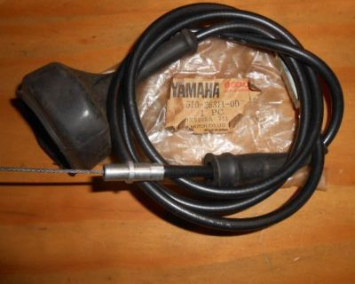 Nos Yamaha Oem Cable Throttle 75-76 Yz250 Yz400 Mx400 Mx250 Mx400 510-26311-00