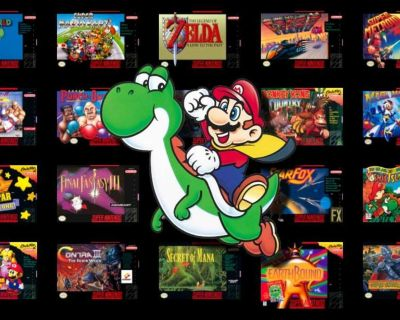 I m looking for Super Nintendo games