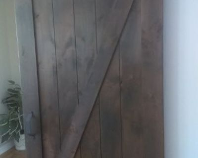FS Barn Door...solid wood.