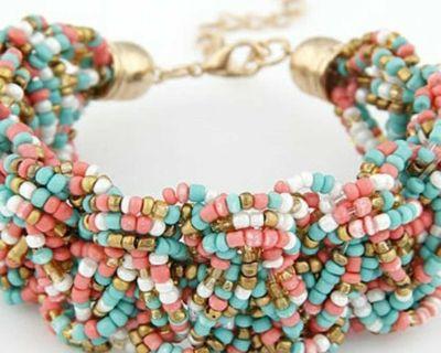 Bohemian style charm bracelets