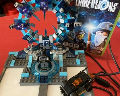 Dimensions game and lego