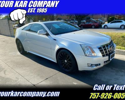 2013 Cadillac CTS Coupe 2dr Cpe Performance AWD