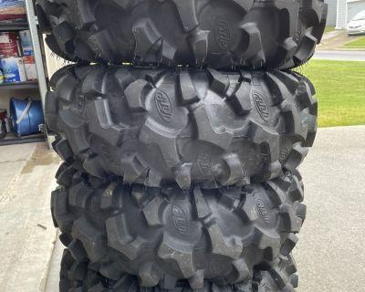 FS ATV tires ITP low miles